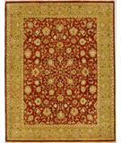 RugStudio presents Due Process Mirzapur Kashan Brick-Khaki Hand-Knotted, Best Quality Area Rug